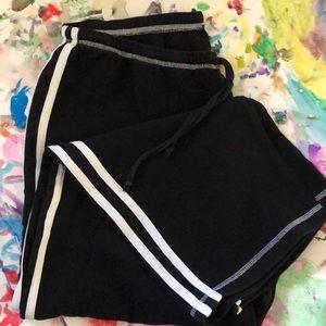 🔥BOGO 50% Beauxart Jogging pants Blk/Wht Size 1X